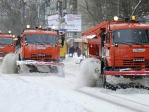 За уборкой снега будет следить ГЛОНАСС
