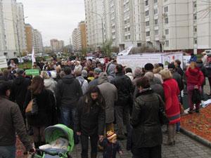 Митинг в Кожухово