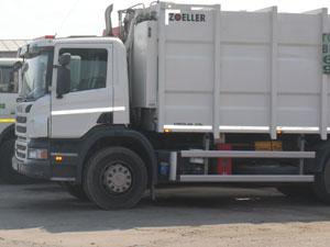 мусоровозы Scania