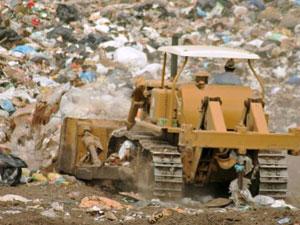 Полигон отходов