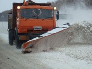 Уборка снега - отвал