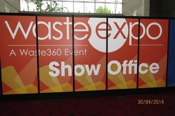 Выставка WasteExpo-2014 в Атланте