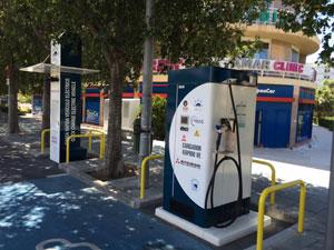 Заправка электромобилей в Испании
